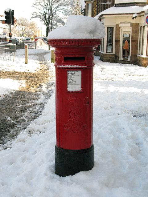 ER VII Pillarbox, Harrogate