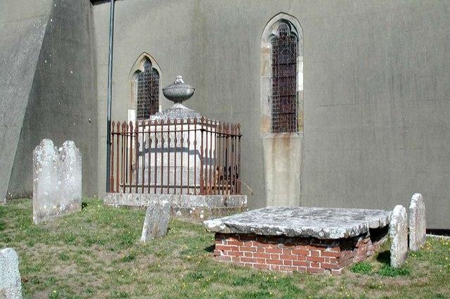 All Saints, Patcham, Sussex - Churchyard