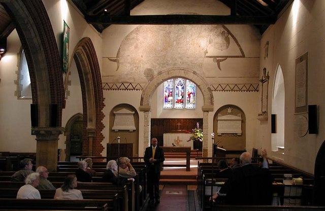 All Saints, Patcham, Sussex - East end
