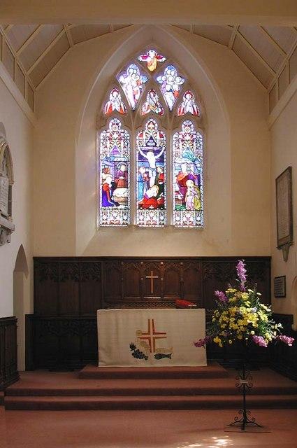 All Saints, Patcham, Sussex - Chancel