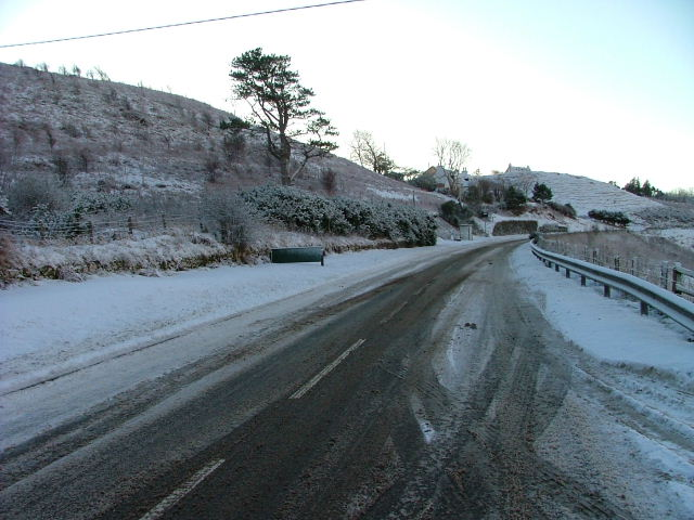 A87 Uig to Portree road
