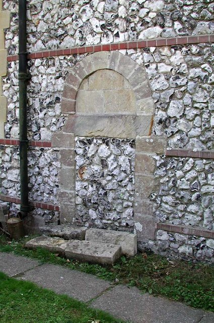 All Saints, Patcham, Sussex - Blocked doorway