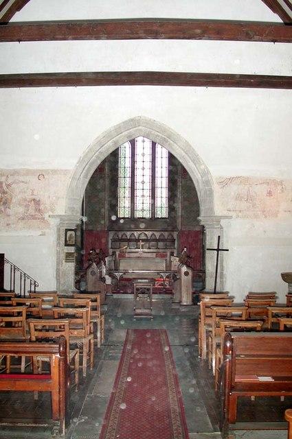 St Peter, Preston, Sussex - East end