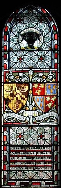 St Peter, Preston, Sussex - Window