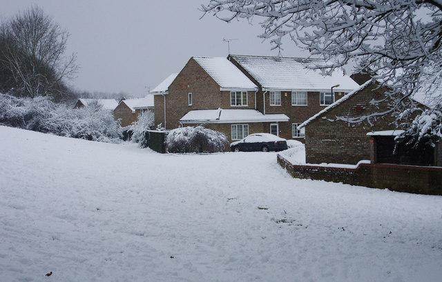 Matley Moor from Wick Lane, Swindon