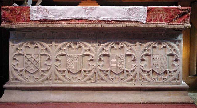 St Peter, Preston, Sussex - Tomb chest