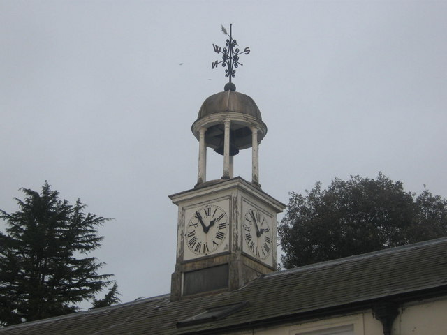 Clock Tower, Kilnwick Percy Hall near Pocklington, East Riding, Yorkshire