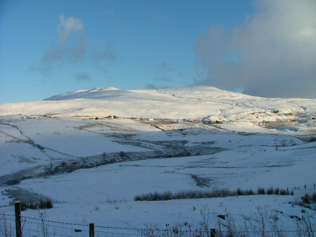A snowy Glen Uig