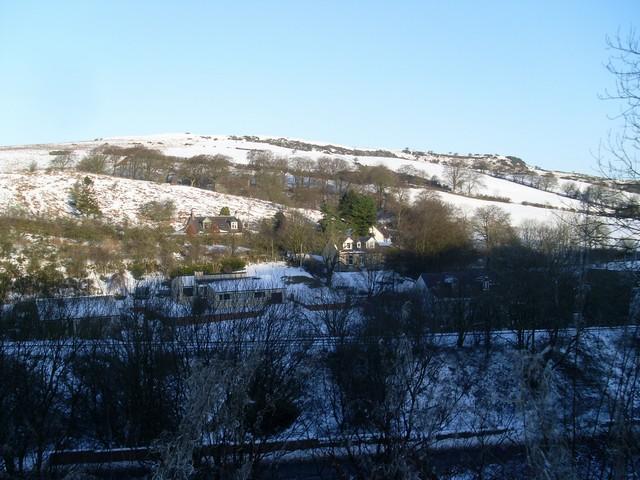Across Killoch Glen