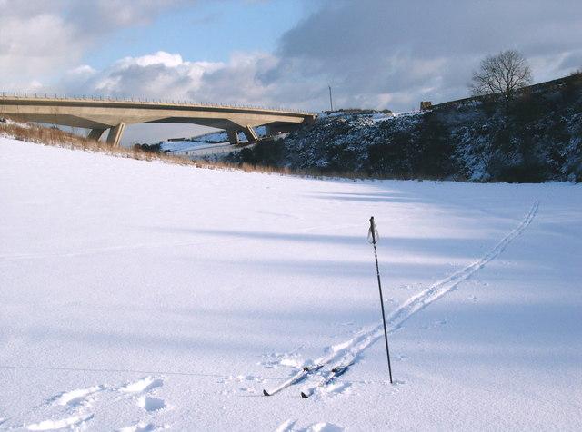 Snowy Tyne Valley