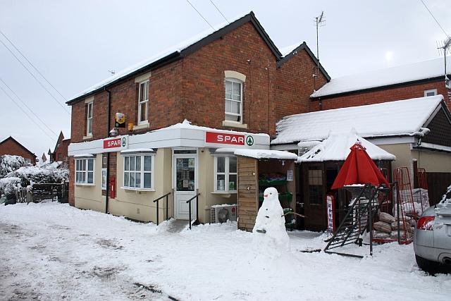 Upper Welland village shop