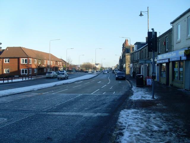 Main Street, Barrhead Town Centre