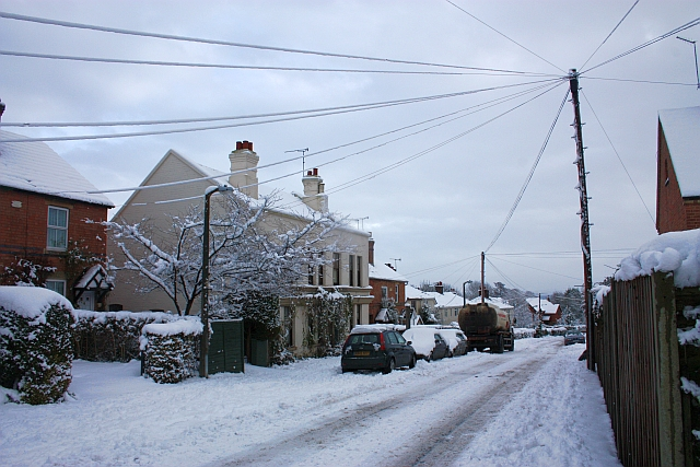 Upper Welland in the snow