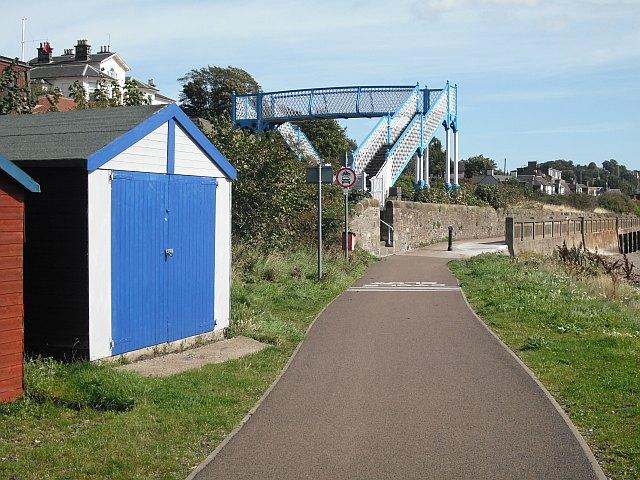 Footbridge, Broughty Ferry