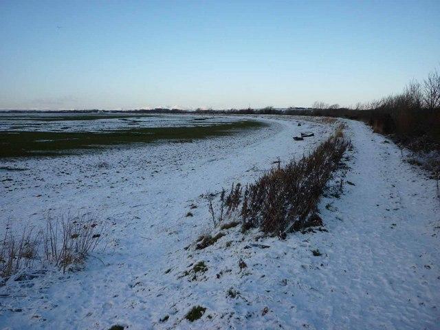 Lancashire Coastal Path, Aldcliffe Marsh
