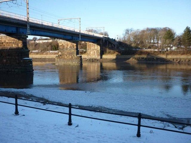 The River Lune at Carlisle Bridge