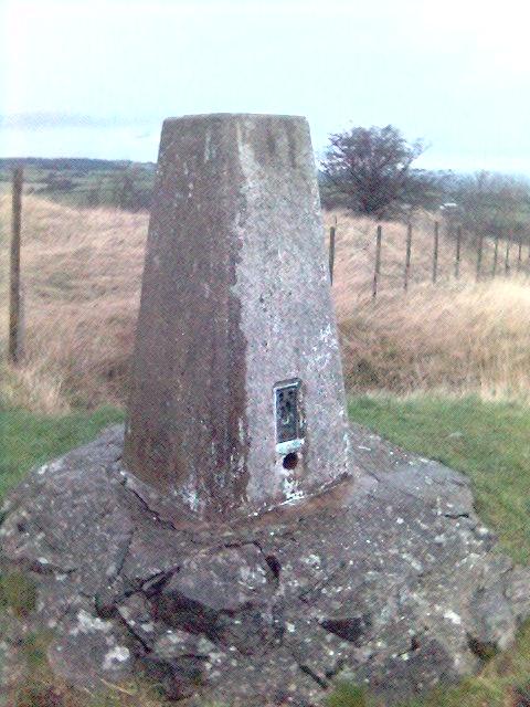 Trig Point at Crich War Memorial