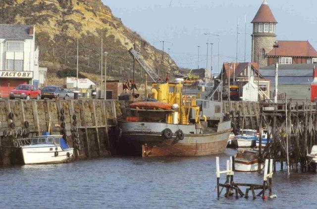 New harbour Scarborough