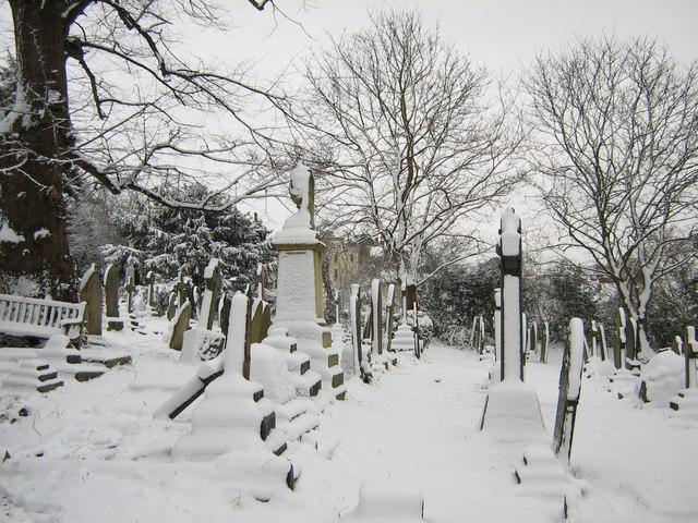 Churchyard, Westbury-on-Trym