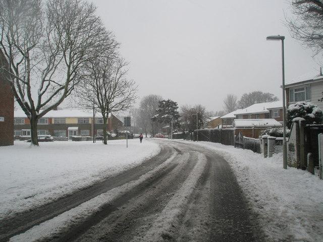 Hazardous conditions in Stockheath Lane