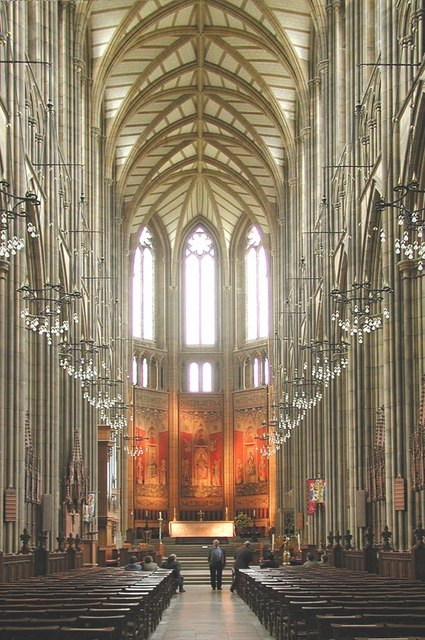 Lancing College Chapel, Sussex - East end
