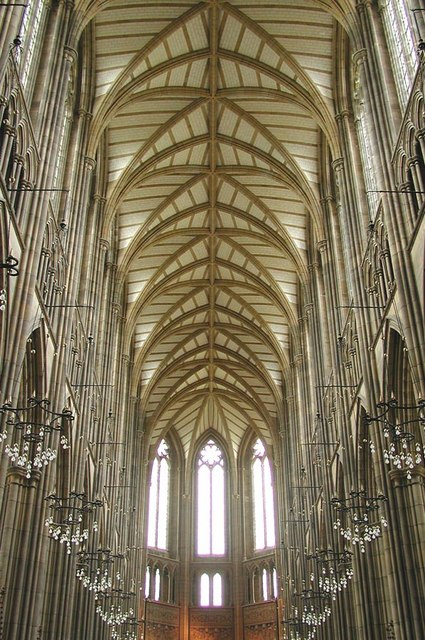 Lancing College Chapel, Sussex - Roof