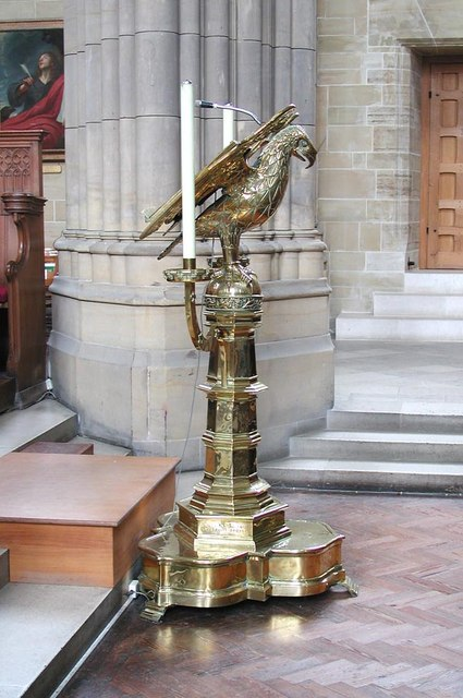 Lancing College Chapel, Sussex - Lectern