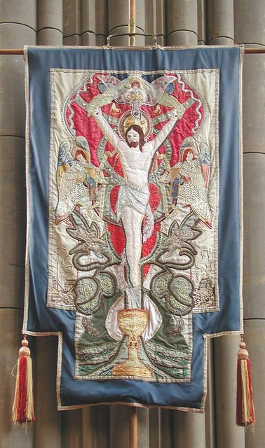 Lancing College Chapel, Sussex - Banner
