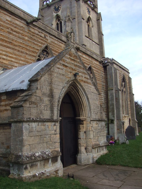 South porch of St. Vincent's Church, Caythorpe