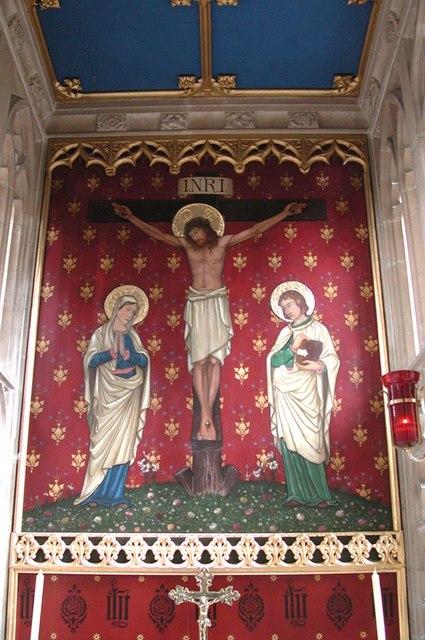 Lancing College Chapel, Sussex - Interior