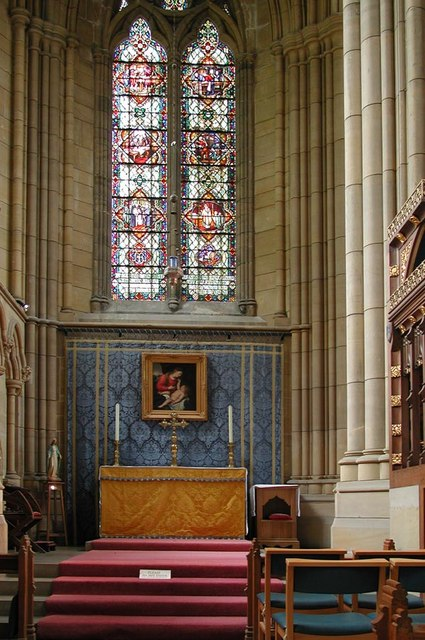 Lancing College Chapel, Sussex - Chapel
