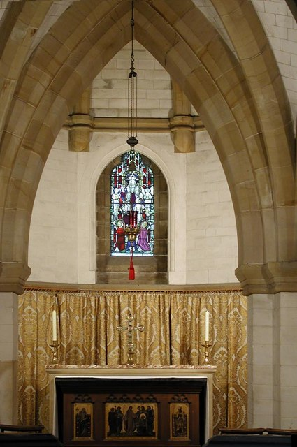 Lancing College Chapel, Sussex - Crypt chapel