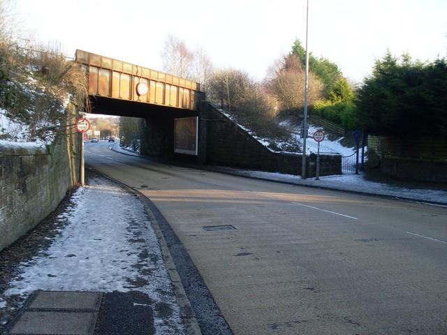 Disused railway bridge, Elderslie