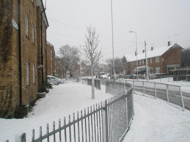A snowy Purbrook Way