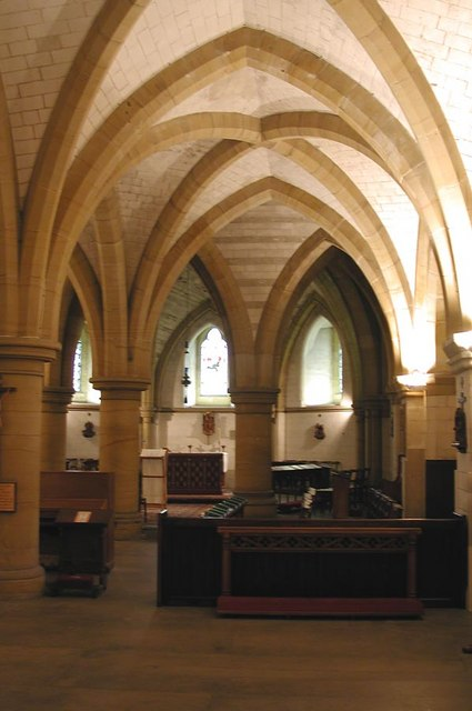 Lancing College Chapel, Sussex - Crypt