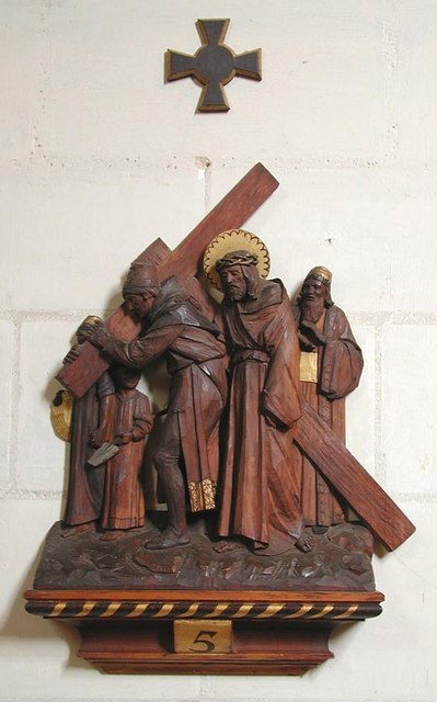 Lancing College Chapel, Sussex - Station of Cross