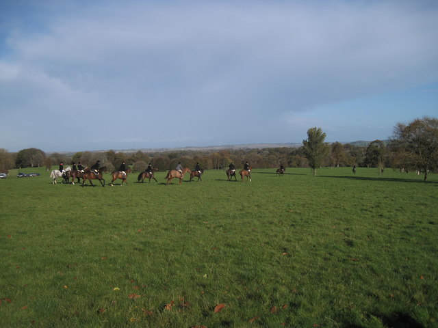Cattistock Hunt at Melbury Estate