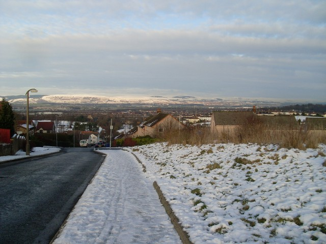 View from Dee Drive, Foxbar