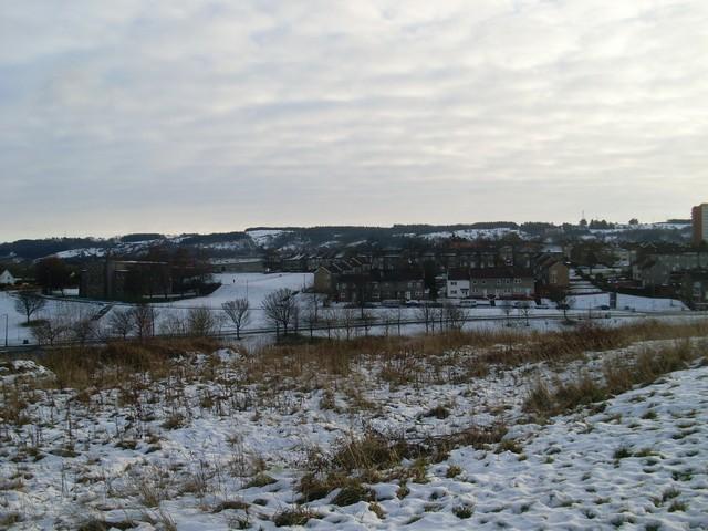 Across Foxbar towards Stanely Reservoir
