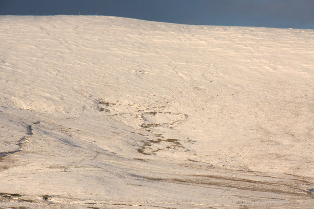 Slopes of Sothers Field in snow