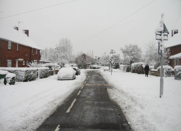 Pemerton Road & snow