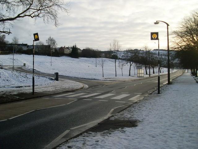 Zebra crossing, Brediland Road
