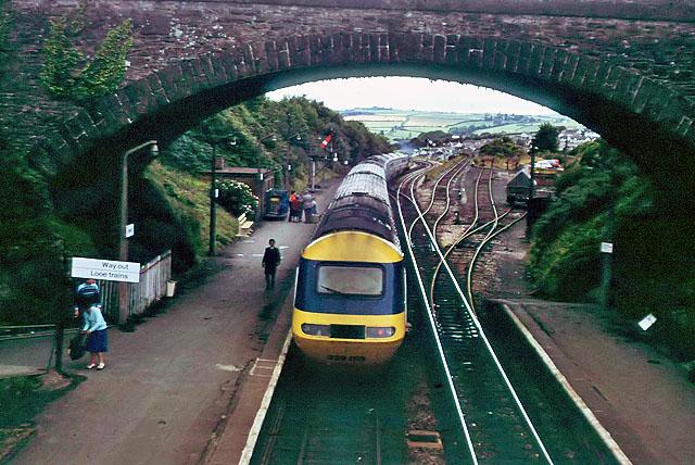 Liskeard station, 1979