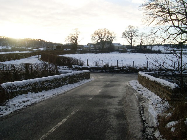 Leitchland Road crosses Old Patrick Water