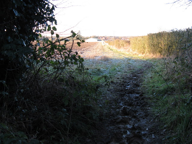 Footpath to Wellcross Grange