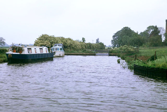 End of truncated Ashby Canal, 1976