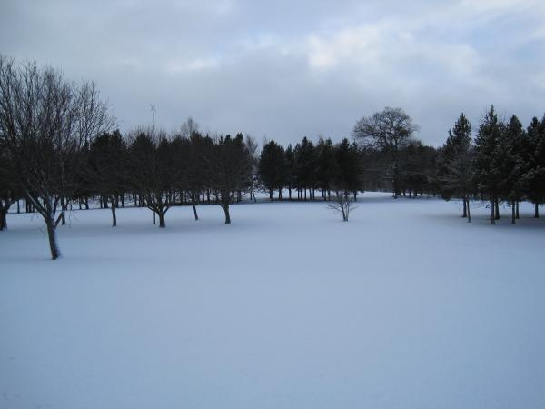 Beamish Park Golf Club, 18th Green.