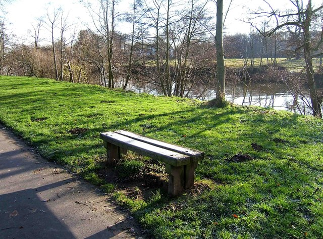 A seat by the Severn