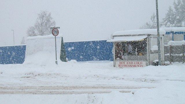 Snowfall, Aviemore