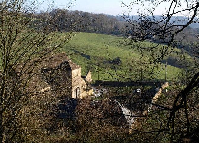 Barn and dovecote, Fernley Farm